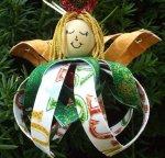 Sweet Angel Girl Ornament Kit Penny Marble Designs 13514
